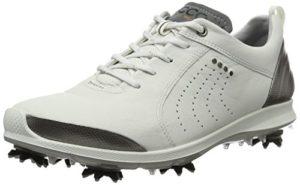 ECCO Womens Golf Biom G 2, Chaussures Femme, Blanc (White/Buffed Silver 54510), 41 EU