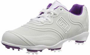 Footjoy Aspire, Chaussures de Golf Femme, Gris (Gris 98801), 38.5 EU