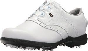 Footjoy DryJoys, Chaussures de Golf Femme, Blanc (White 99017), 40 EU