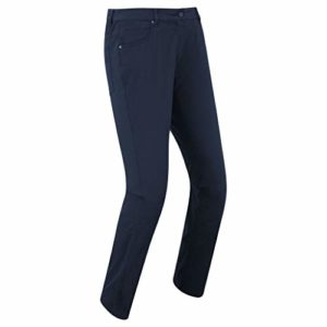 Footjoy Women 's Golf fleisure Stretch Trousers Pantalon Long Golf, Femme XXL Bleu Marine