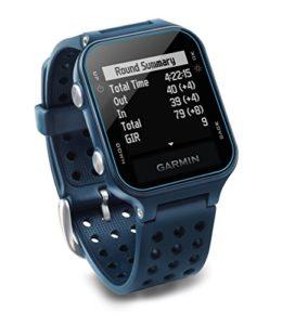 Garmin Approach S20 Montre GPS de Golf, Bleu, Taille Unique (Reconditionné)