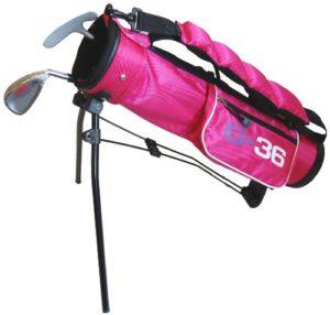 Golf36 Baby Goldset Set de golf pour enfant Rose