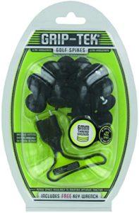Grip-Tek Métal Filetage Pointes pour Chaussures de Golf, Mixte, Metal Thread, Noir