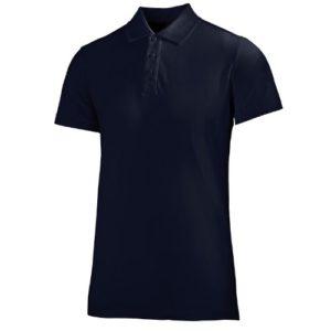 Helly Hansen Polo en coton pour homme Crew Bleu Bleu roi petit