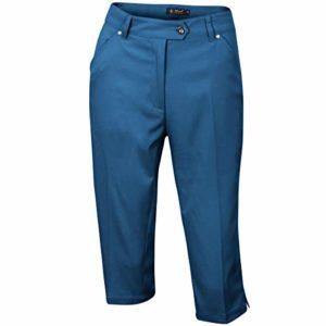 Island Green Iglpnt1487ss Pantalon de Golf pour Femme Size 10 Bleu Marine