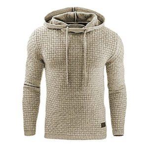 Juleya Pull à capuche pour hommes – Décontractée Sweat à capuche sport Sweatshirt Outwear Convient pour l'automne / hiver XS-XXL