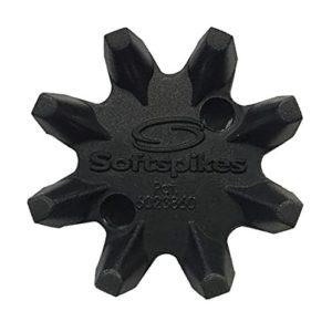 LEGEND Softspikes Black Widow Kit QF–Cheville pour Chaussures de Golf