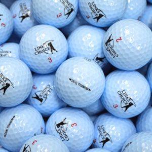Links Choice 12 balles de golf de couleur Bleu