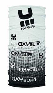 OxyBurn pour Enfant Oxybuff Tubulaire Multifonctionnel Chiffon M Blanc/Noir