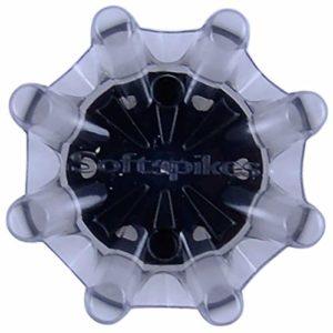 SOFTSPIKES Pulsar Cleat (FTS 3.0), Gris/Noir, 1 Jeu