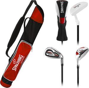 Spalding Kids 'kit de Golf, Rouge, 7–10Ans