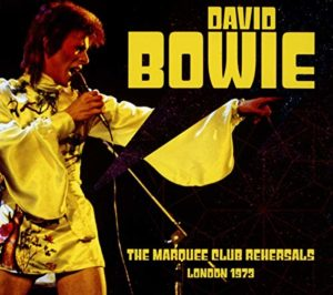 The Marquue Club Rehearsals London 1973