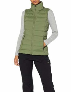 The North Face T93O7F Gilets Femme Four Leaf Clover FR : M (Taille Fabricant : M)