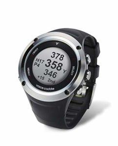 Voice Caddie Montre GPS de Golf Hybride G2 Unisex-Adult, Noir, Taille Unique