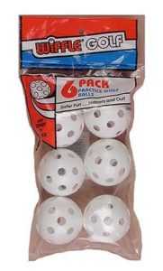 Wiffle Practice Golf Balls – 6 Pack by Wiffle