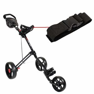 5 Series 3 Wheel Cart – Top Bag Bracket – Webbing Strap