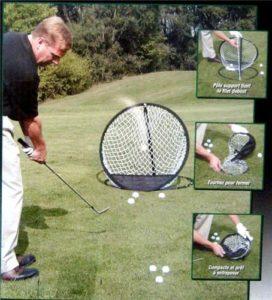 A99 Golf d'entraînement de conduite en 1 Pop up-Filet de chipping 18 cm de diamètre