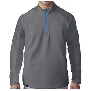adidas Golf pour Homme Climacool Competition 1/4Superposition Fermeture Éclair sur Le Dessus, Homme, TM4257S6, Vista Grey, Grand