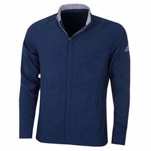 adidas Softshell Jacket Blouson de Sport Homme, Bleu Marine, L