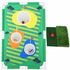 Alomejor Golf Chipping Net Golfing Target Net Golf Chipping Practice Net for Beginners Training Golf
