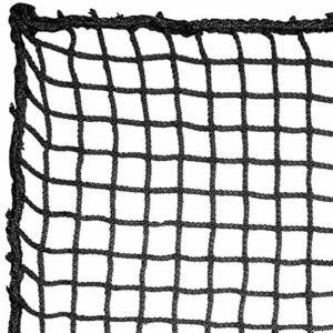 Aoneky Filet de Golf Pratice 3x3M, Maille Carrée 2.5cmx2.5cm, Corde sans Noeud 3mm – Filet de Barrière pour l'Entraînement du Golf, Baseball, Hockey