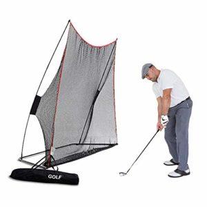 AYNEFY Filet de Golf Filet de Golf Universel – pour entraînement de Golf – avec Sac de Transport – 3 x 2,1 m