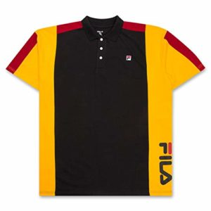 Big and Tall Shirts for Men Cotton Polo Shirt Performance Short Sleeve Golf Polo Black Gold Red 3X