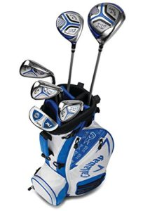 Callaway Golf 2018 Xj Junior Set, Level 2, 6 Piece Set, Right Hand, White