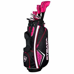 Callaway Golf 2019 Women's Strata Complete 11 Piece Package Set (Right Hand, Graphite)
