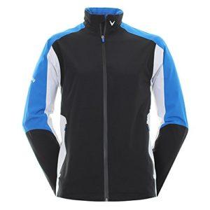 Callaway Tour 3.0Waterproof Jacket Veste imperméable de Golf, Homme L Noir