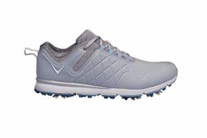 CALLAWAY W637 Lady Mulligan, Chaussure de Golf Femme, Gris/Chaleur, 38 EU