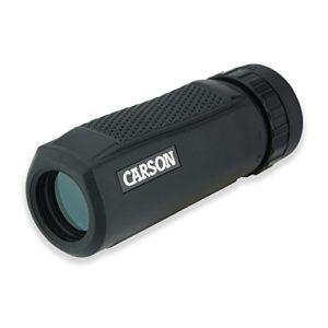 Carson 10×25 BlackWave Monoculaire Étanche Avec Mise Au Point Rapprochée Jusqu'à 1,2 m