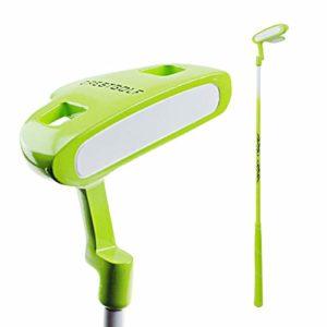 Crestgolf Kids Golf Clubs Putter Junior Putter de Golf Putter Durable en Alliage de Zinc pour Enfants droitiers,Green,29inches(9-12years Old)