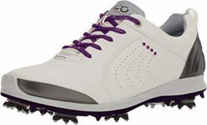 Ecco Women'S Biom G 2, Chaussures de Golf Femme, Grau (57693CONCRETE/Imperial Purple), 42 EU