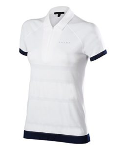 Falke 37831 Polo Femme, Blanc, FR : S (Taille Fabricant : S)
