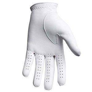 FootJoy CabrettaSof – Gants de golf pour la main gauche (Composite) Couleur: Blanc Taille: M