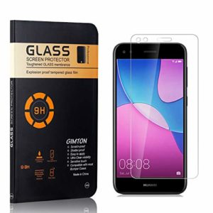 GIMTON Verre Trempé pour Huawei P9 Lite Mini, sans Poussière, Ultra Transparent, Dureté 9H Protection en Verre Trempé Écran pour Huawei P9 Lite Mini, 1 Pièces