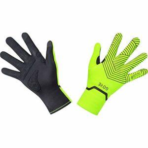 Gore C3 GT Infinium Stretch Mid Gloves Unisex Noir Jaune XL