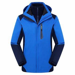 Homme/Femme Veste Légère Imperméable Coupe-Vent Coupe-Pluie Sportif Randonnée Softshell Jacket