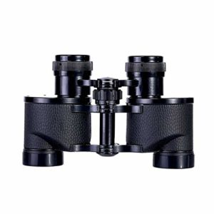 HO-TBO Jumelles 6X24 Télescope Mid-Range Grand Angle HD Jumelles Convient pour Camping Extérieur Performance Noir Dimensions compactes et poids léger 189X64X140mm noir