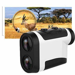 LIN-Reliable Télescope Télémètre Objectifs étanche D'objectif Télescope De Chasse Réglable Recherche pour Le Golf Best Value Birdwatching Et Randonnée Monoculaire 1000m