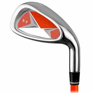 Lpinvin OS Putter de Golf Golf Practice Golf Club Carbone Fer 7 Fer à Repasser Hommes et Les Femmes for Enfants débutants Pôle Pratique for 3-12 Ans Golf Putters pour Les Hommes