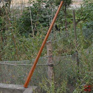 LXFMZ Hoe Poignée Marteau poignée poignées en Bois poignée pin houe Pas poignée houe en Bois de hêtre poignée de Rechange,1.4m