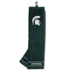 NCAA brodée Serviette de Golf, Michigan State Spartans