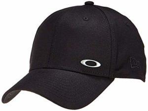 Oakley TINFOIL CAP casquette Oakley petit logo metal Homme noir FR : M/L (Taille Fabricant : M/L)