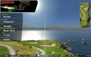 OptiShot2 golfsimulator avec online tool pour windows et mAC oS version 2015
