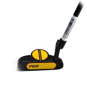 PGM PGM Rio Tug006Putters de golf junior clubs de golf Putter pour enfants JR plongeurs, Noir/jaune