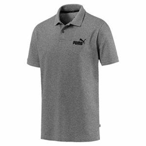 Puma – 851759 – T-Shirt – Homme – Gris (Medium Gray Heather) – 2XL
