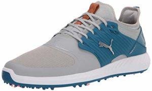 Puma Chaussures de golf pour homme, (High Rise-puma Silver-digi-blue), 44.5 EU