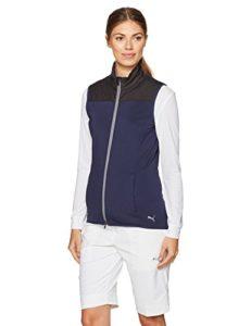 PUMA Golf 2017pour Femme Pwrwarm Knit Gilet, Femme, Peacoat
